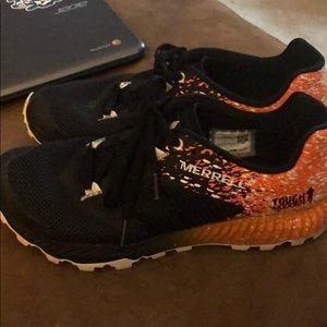 Merrell Tough Mudder shoes Women size 9